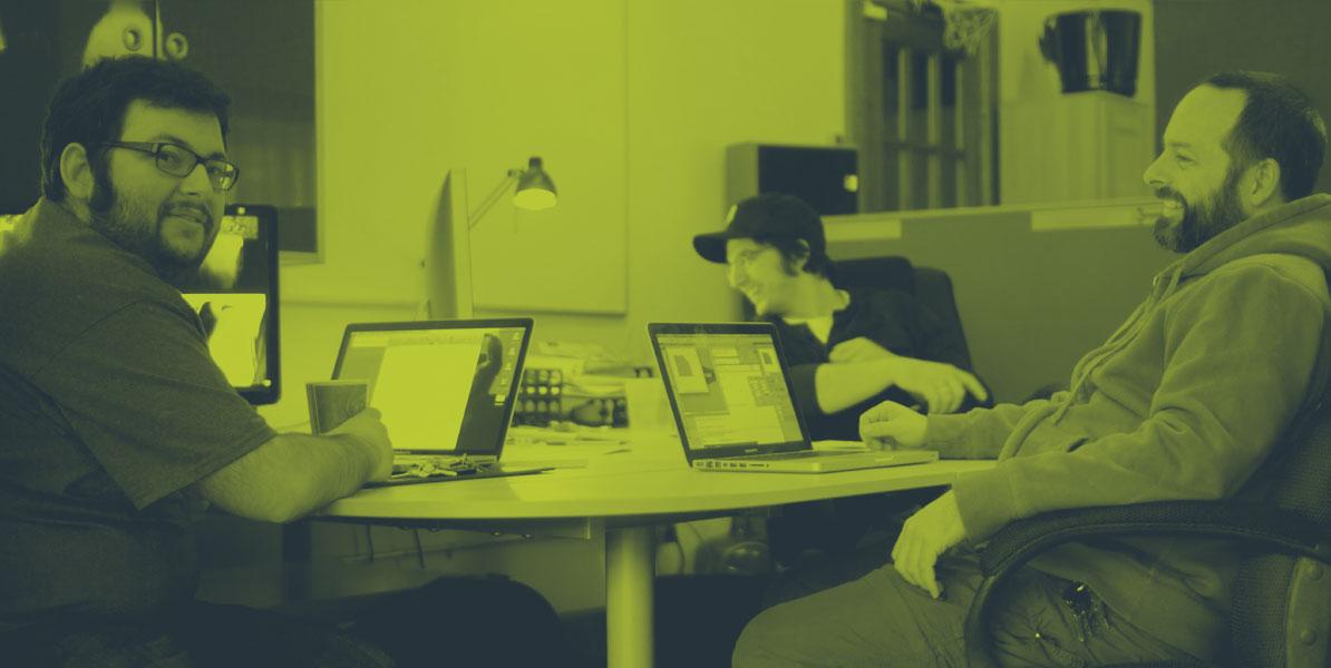 The Envy Creative Team at Envy Creative HQ