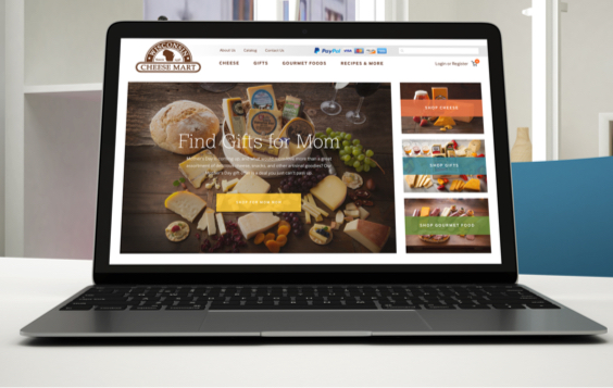 E-Commerce Site for the Wisconsin Cheese Mart