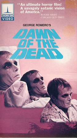 Dawn of the Dead VHS Cover Art