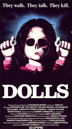 Dolls VHS Cover Art