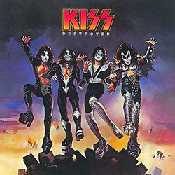 Kiss - Destroyer Album Art