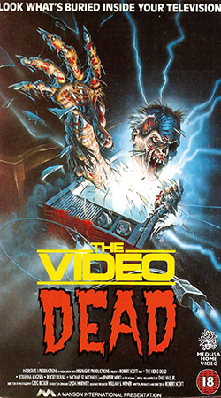 The Video Dead VHS Cover Art