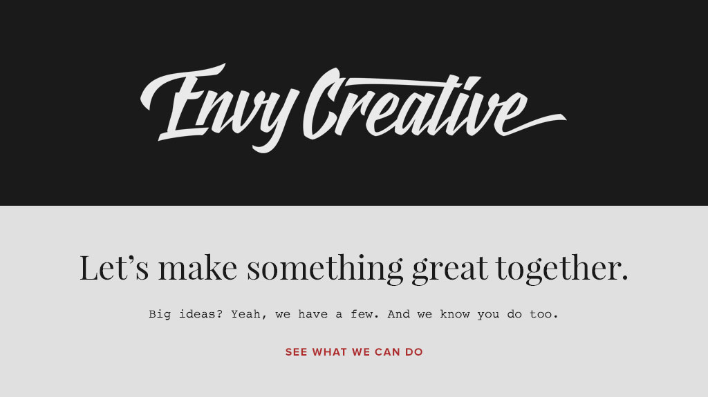 Envy Creative Old Brand Design